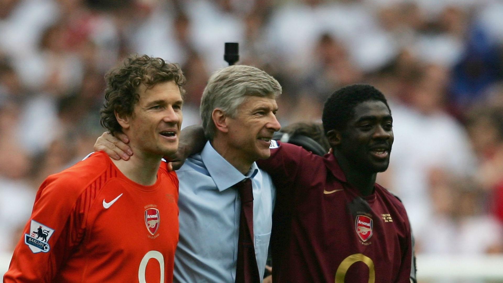 Kolo Touré bij Arsenal